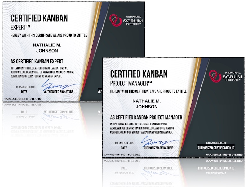 International Scrum Institute - Kanban Certification Programs